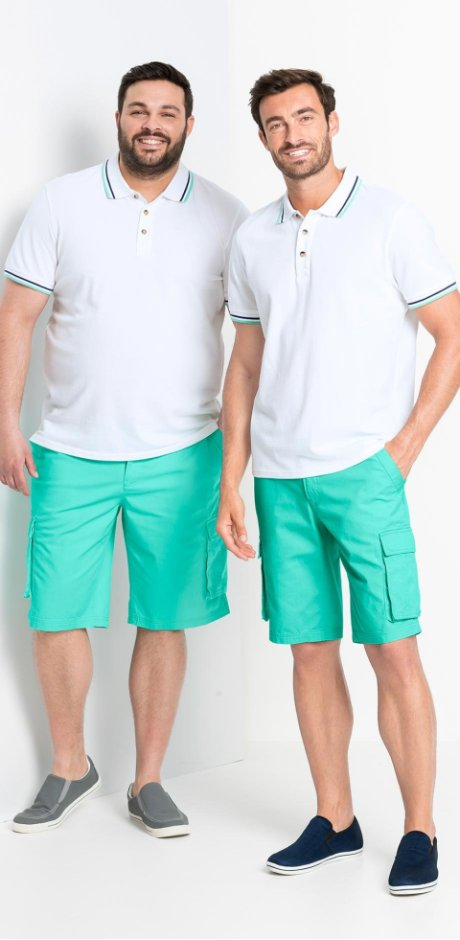 Herren - Poloshirt Regular Fit - weiß