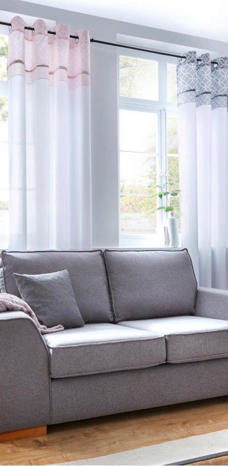 vorh nge bei bonprix viel charakter f rs zuhause. Black Bedroom Furniture Sets. Home Design Ideas