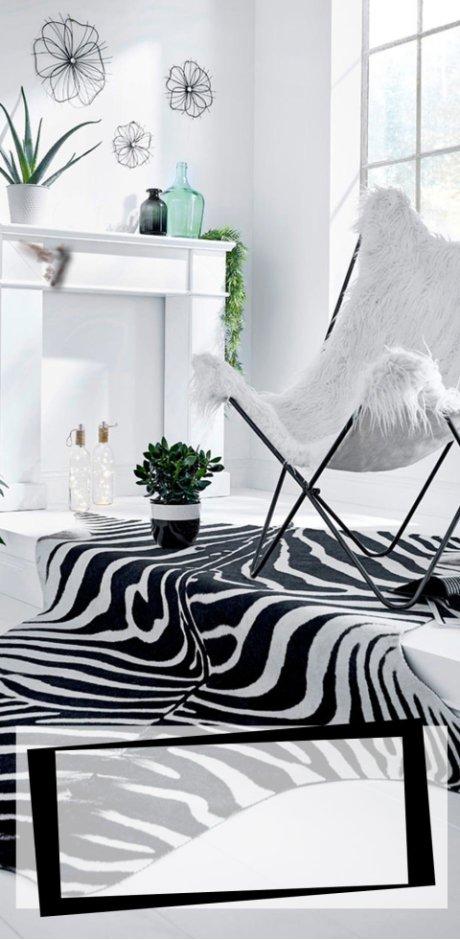 Schwarz & Weiß im Mustermix - Trends - Wohnen - bonprix.de