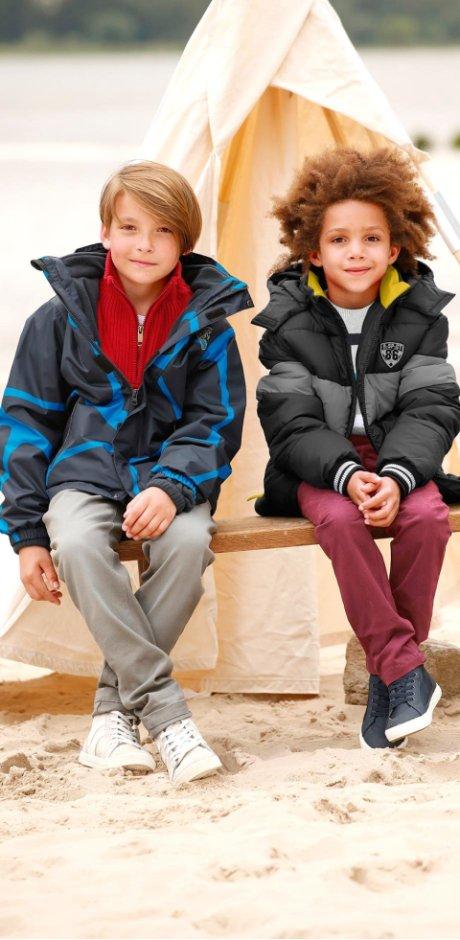 beliebt kaufen gutes Geschäft attraktiv und langlebig Jungen Jacken – modisch bei Wind und Wetter mit bonprix