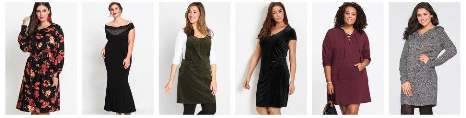 Damenkleider in großen Größen online kaufen  bonprix 6cd2f6b7fa