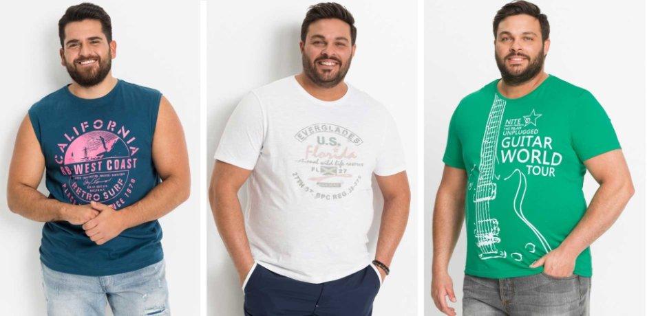 new styles 6a7cd 60d08 T-Shirts für Herren in großen Größen   bonprix