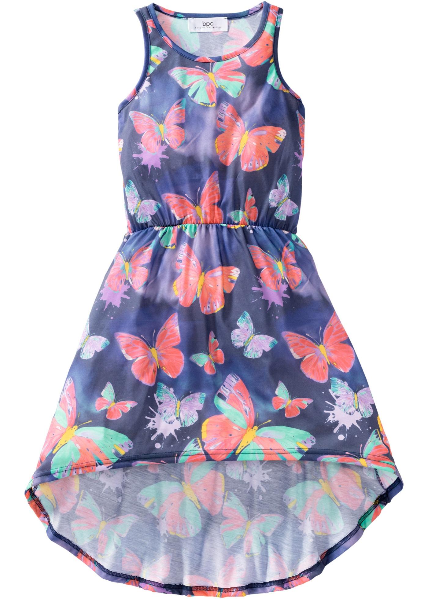 Mädchen Sommerkleid ohne Ärmel  in blau für Mädchen von bonprix