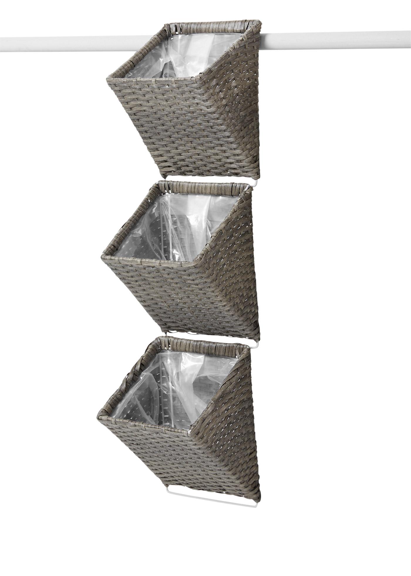 Pflanzkübel (3tlg.Set) in grau von bonprix