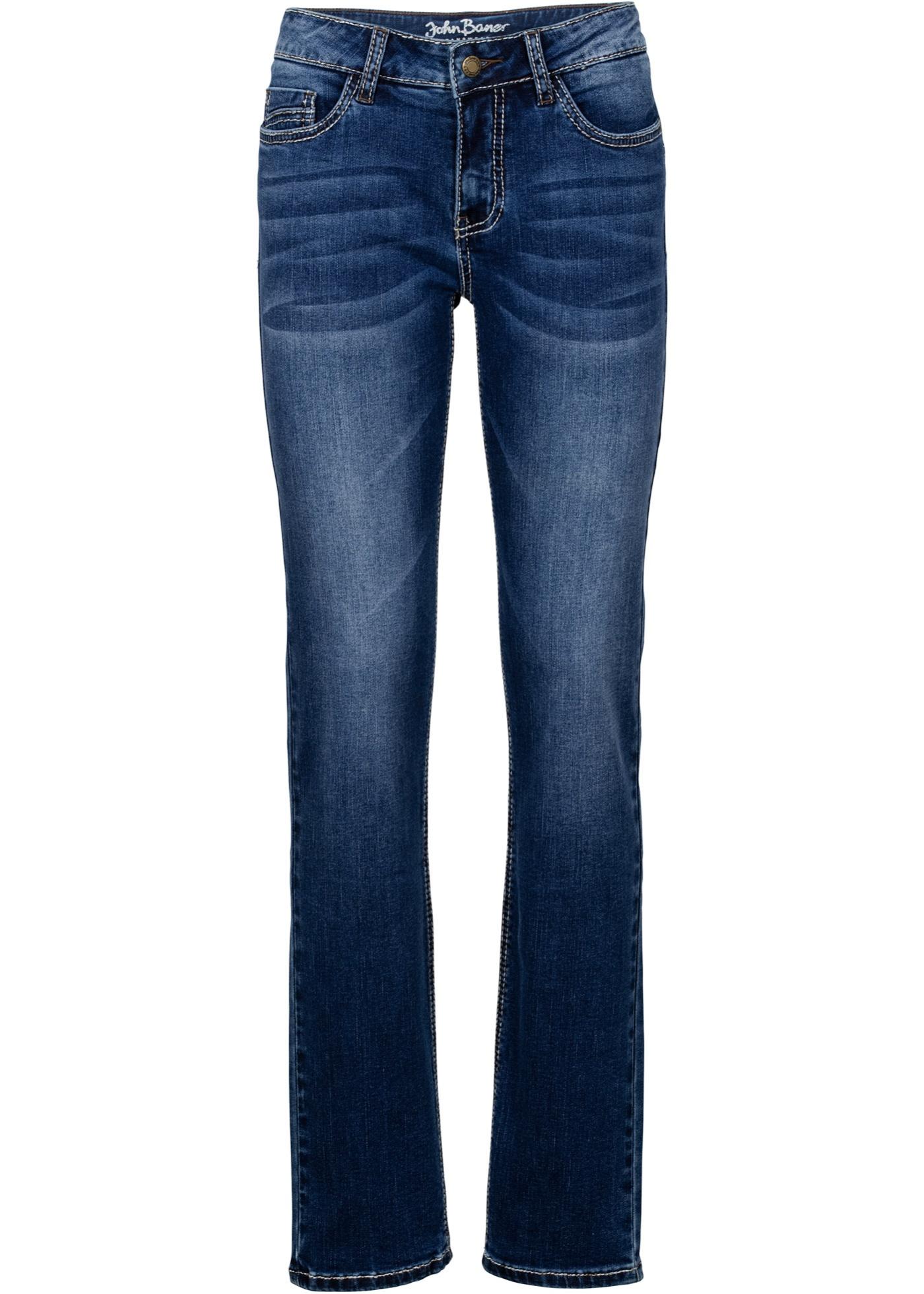 Stretch-jeans Straight