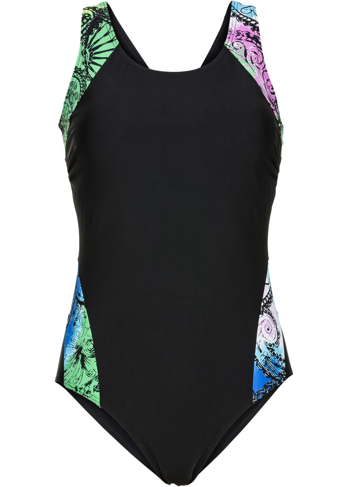 Minimizer Shape Badeanzug Level 1 in schwarz für Damen von bonprix