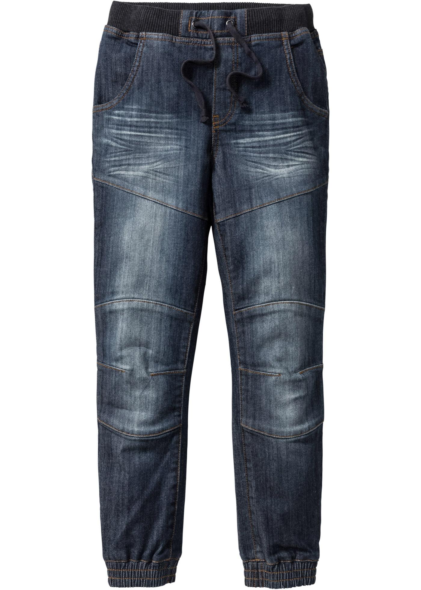 Jungen Jeans, Loose Fit in blau für Jungen von bonprix