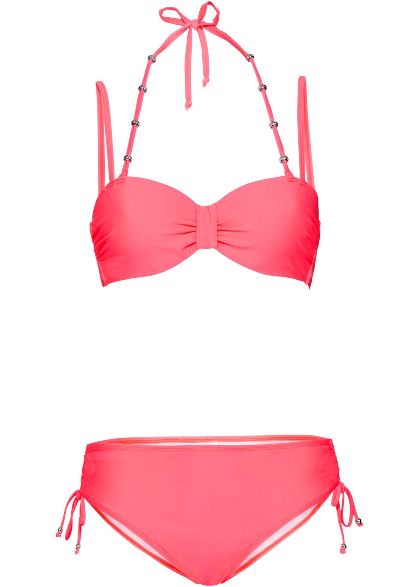 Bademode - Bügel Bikini (2 tlg. Set) › bonprix › rot  - Onlineshop Bonprix