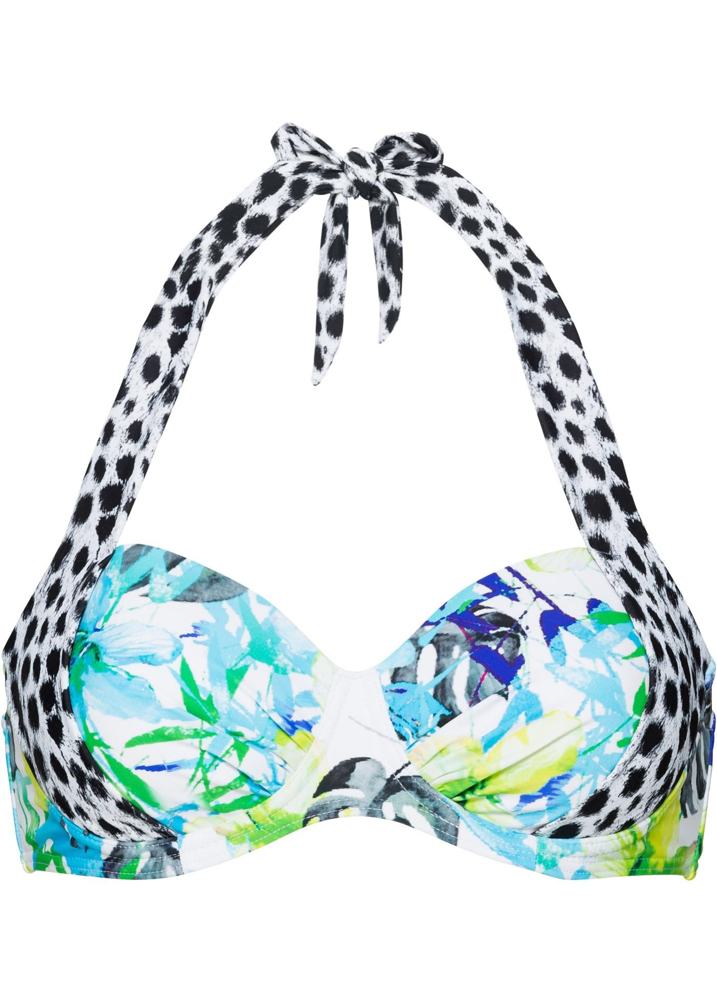 Bademode - Bügel Bikini Oberteil › bonprix › blau  - Onlineshop Bonprix