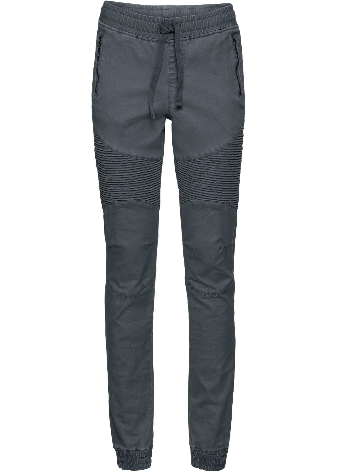 Hosen - Jogg Style Hose › bonprix › grau  - Onlineshop Bonprix