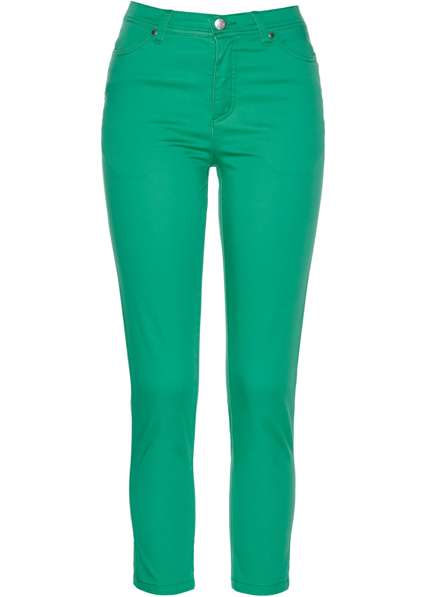 Hosen - Premium Komfort Stretchhose › bonprix › grün  - Onlineshop Bonprix