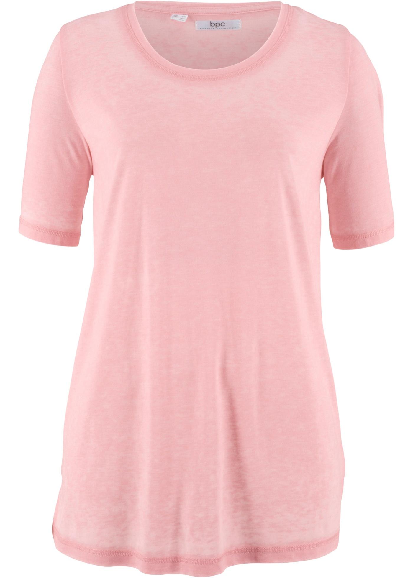 Halbarm-shirt Im Used-look