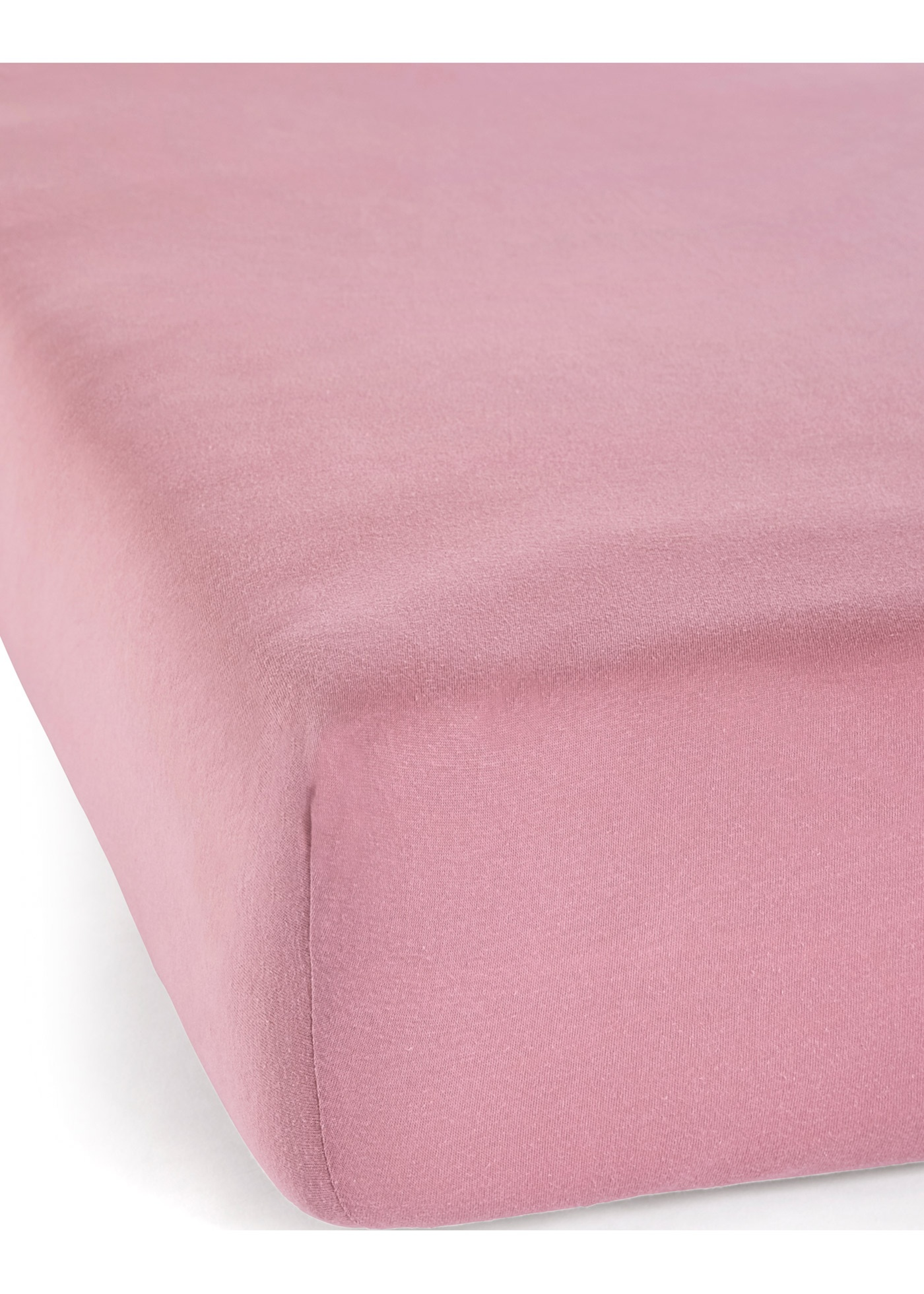 Jersey Spannbettlaken in rosa von bonprix