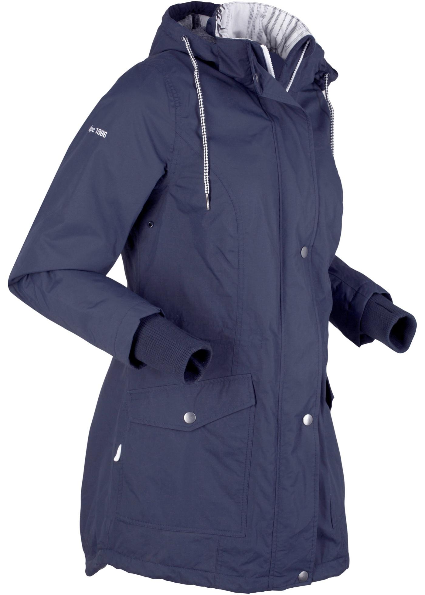 Outdoor-Funktions-Jacke langarm  in blau für Damen von bonprix