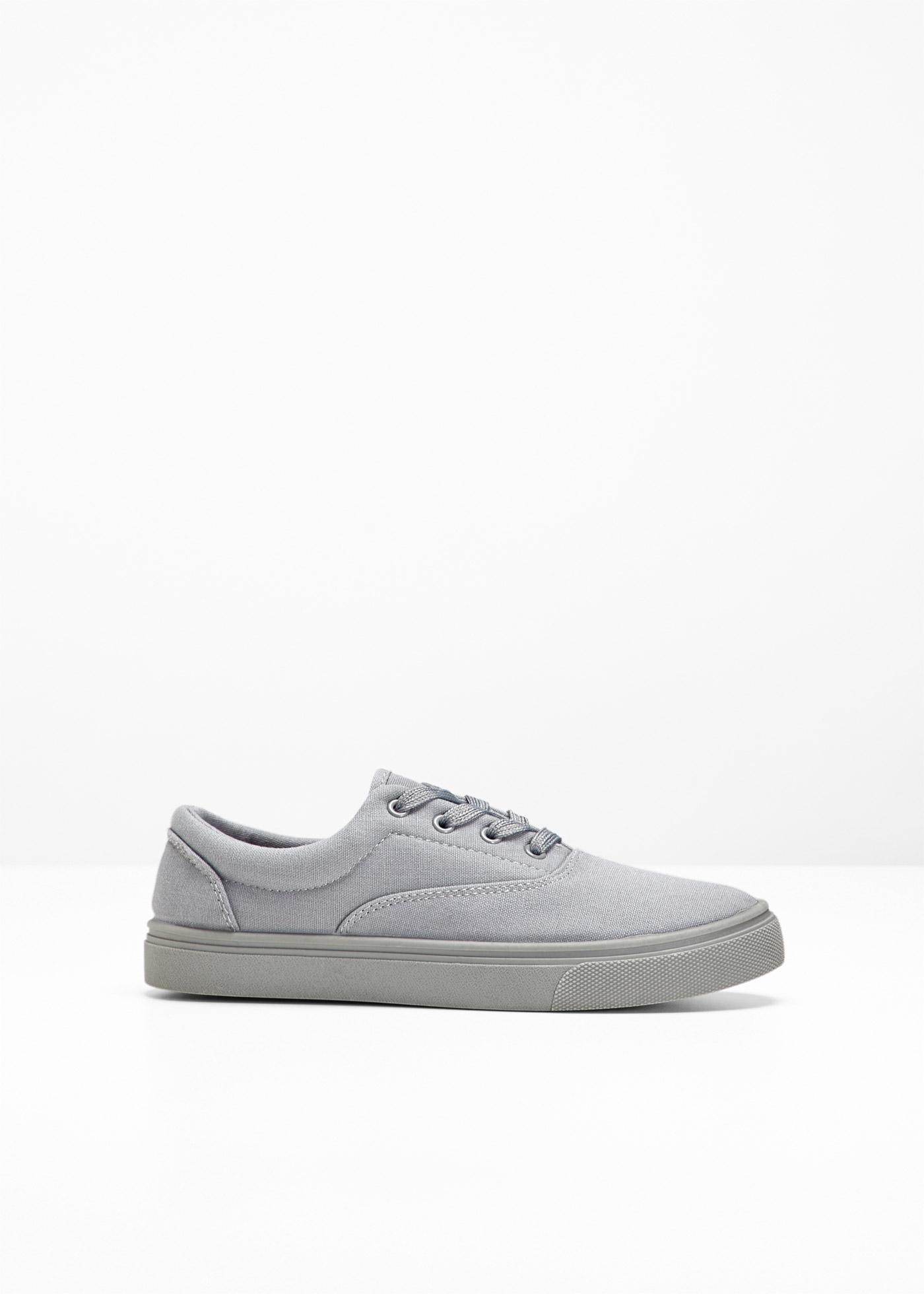 Sneaker in grau von bonprix