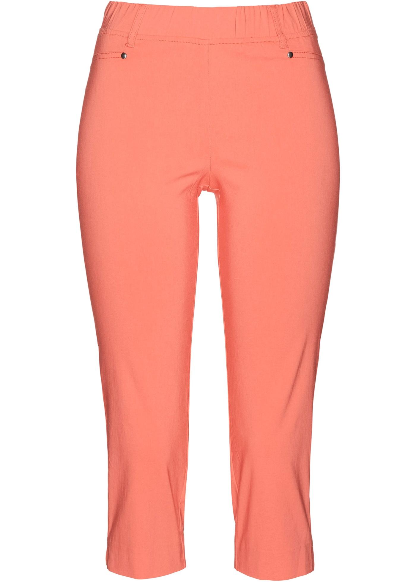 Hosen - Stretchcapri mit Schlupfbund › bonprix › orange  - Onlineshop Bonprix