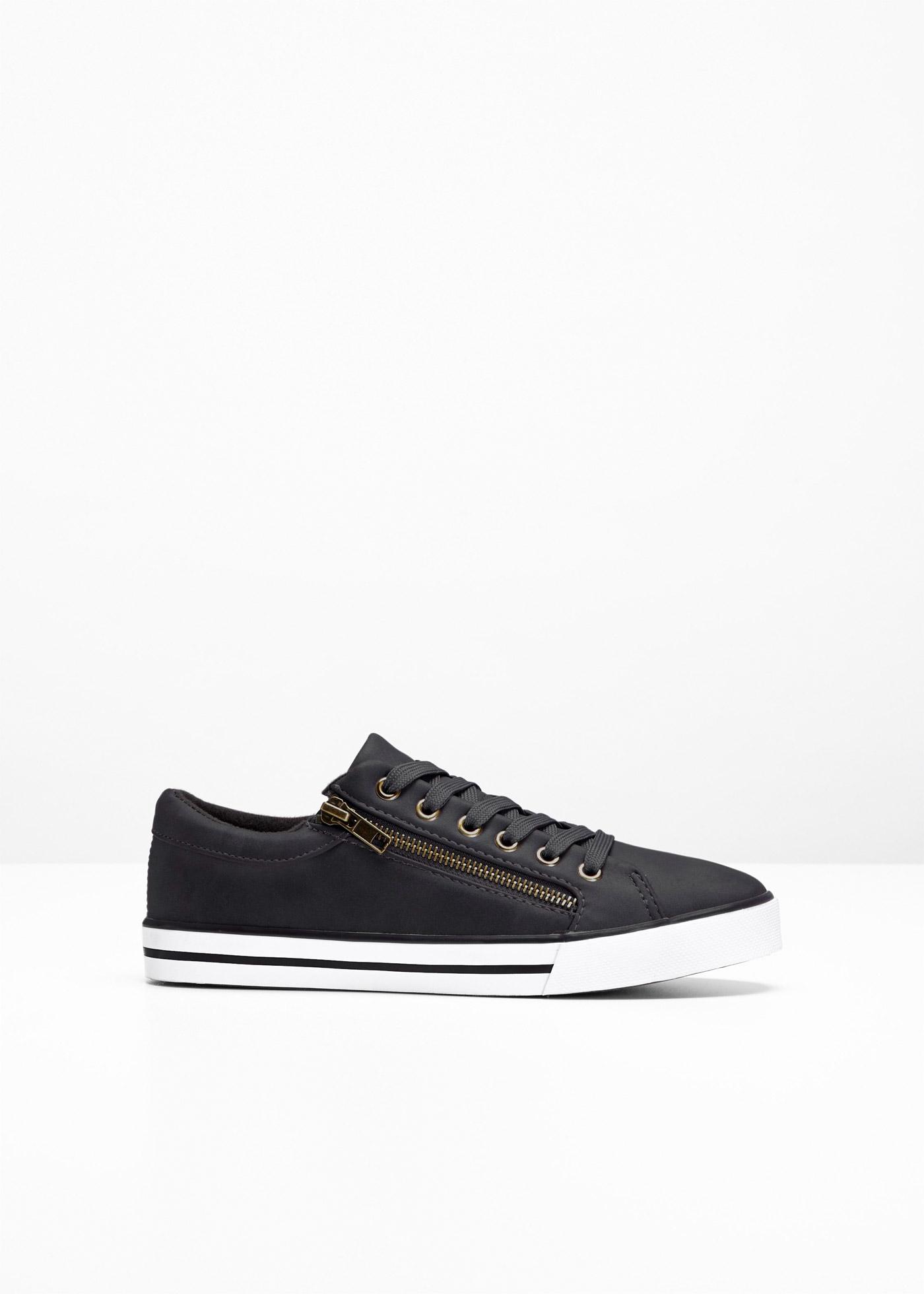Sneaker in schwarz für Damen von bonprix