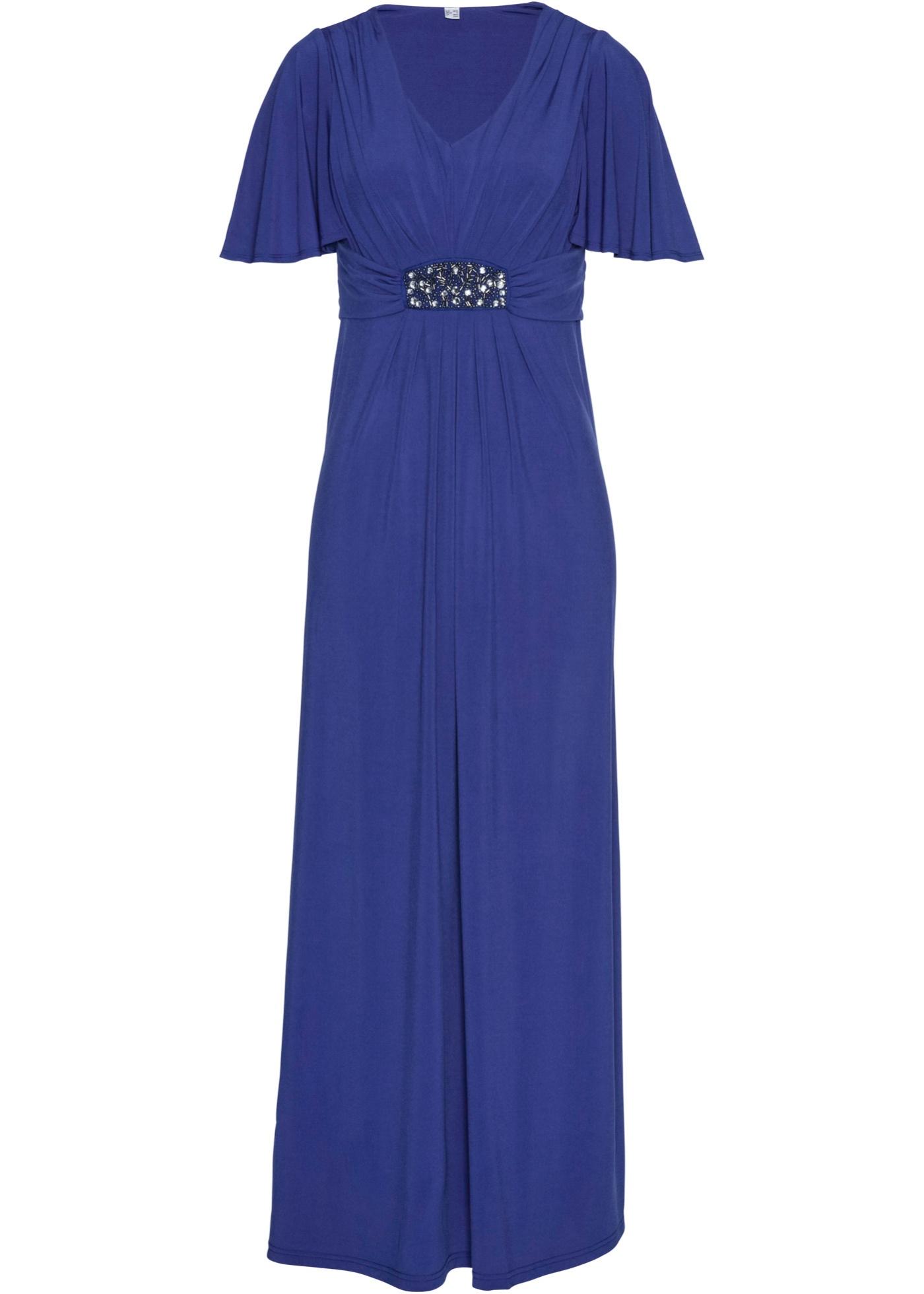 Festtagsmode - Shirt Maxikleid › bonprix › blau  - Onlineshop Bonprix