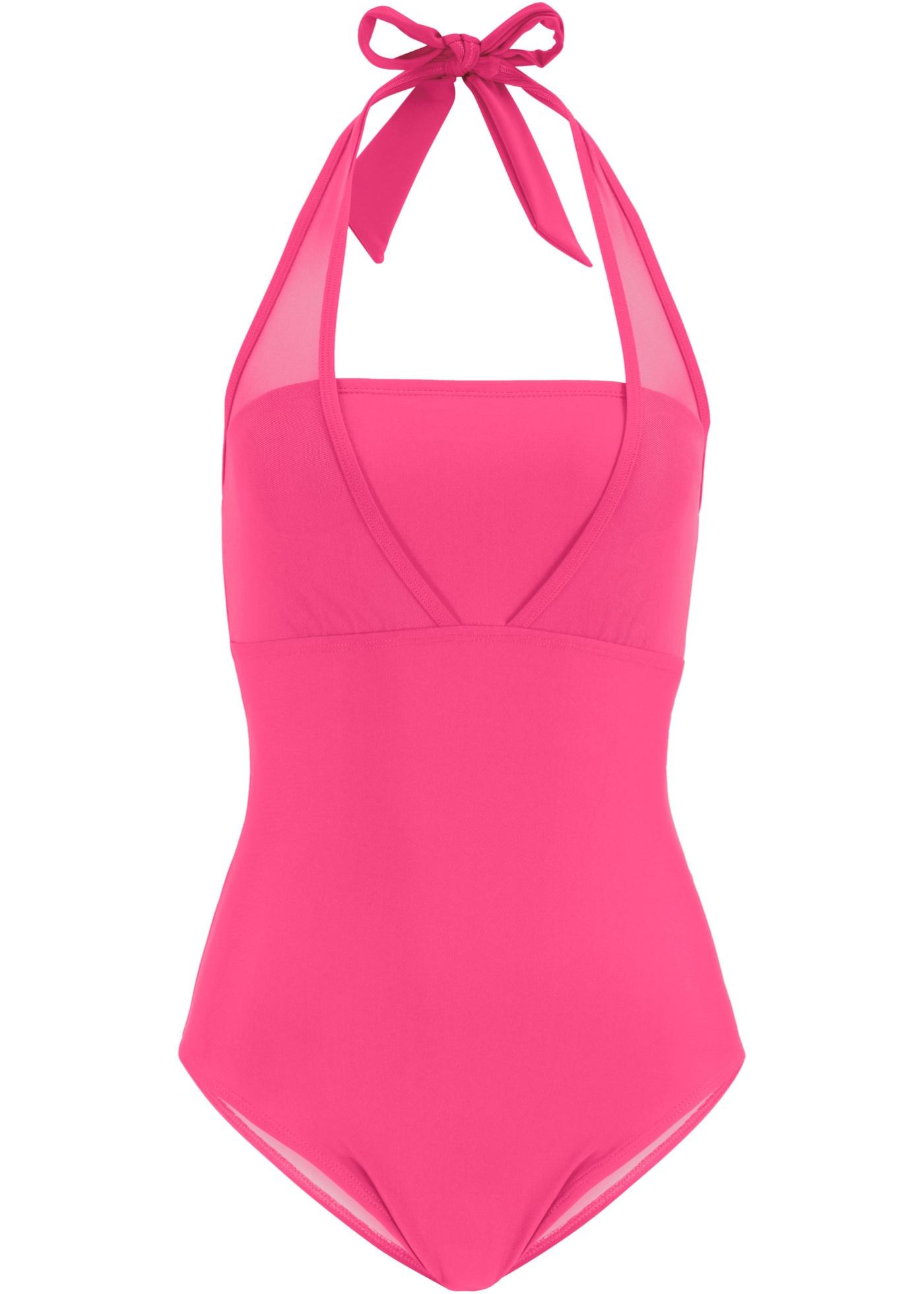Bademode - Shape Badeanzug Level 1 › bonprix › pink  - Onlineshop Bonprix