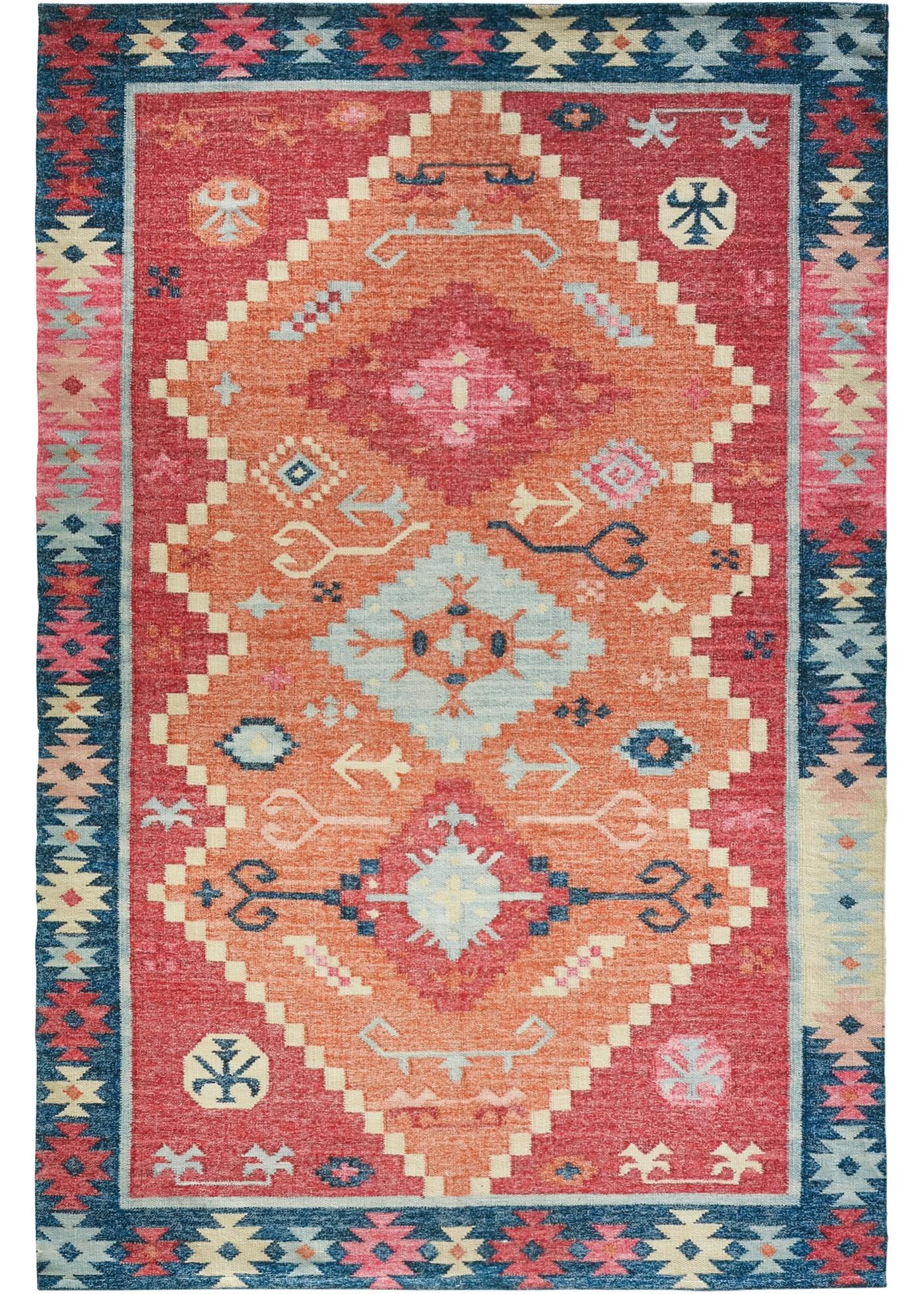 In- und Outdoor Teppich mit Orientmusterung in beige von bonprix