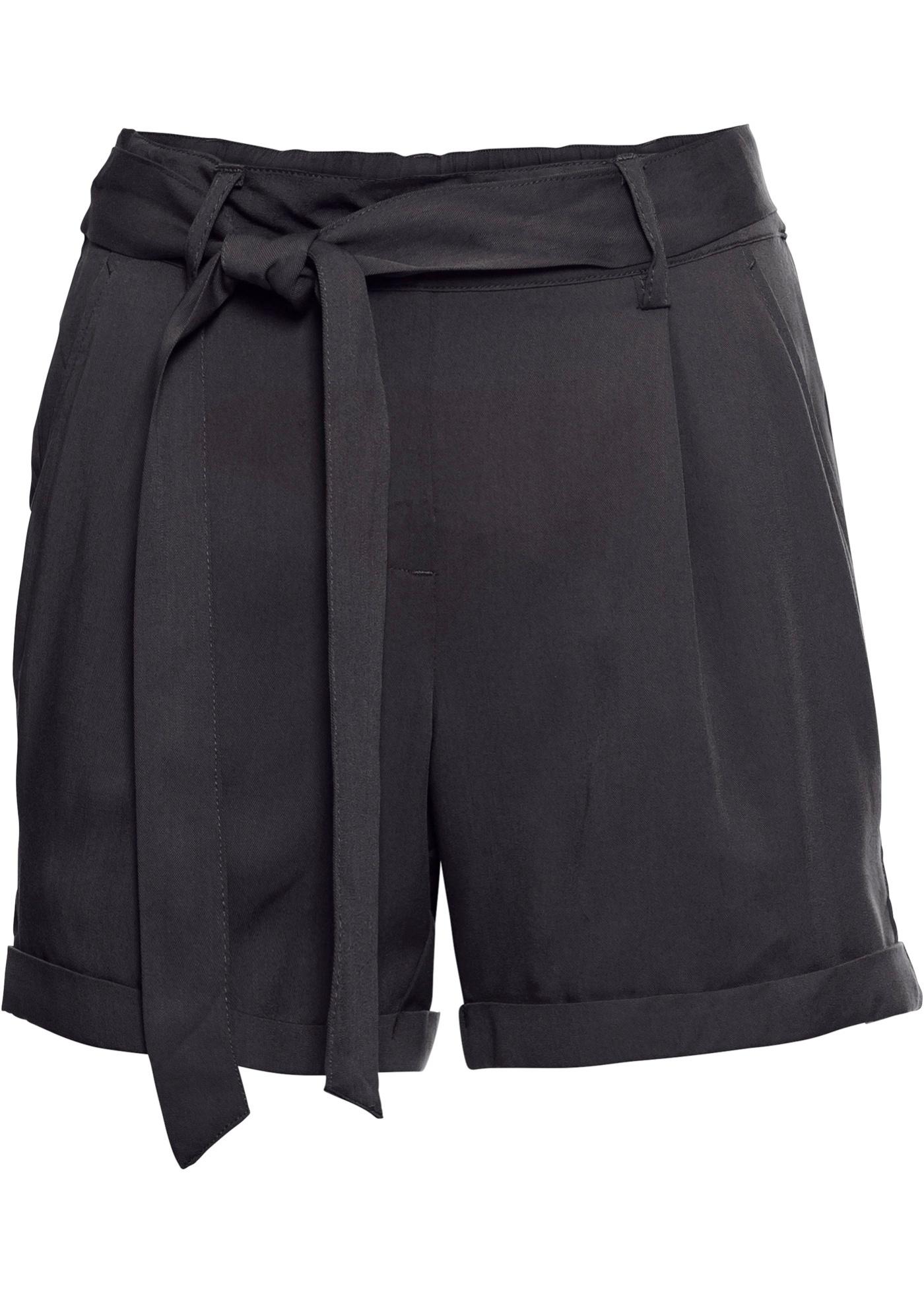 Shorts in schwarz für Damen von bonprix