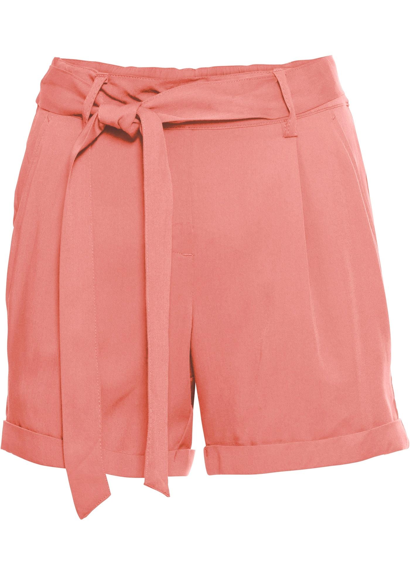 Shorts in rosa für Damen von bonprix