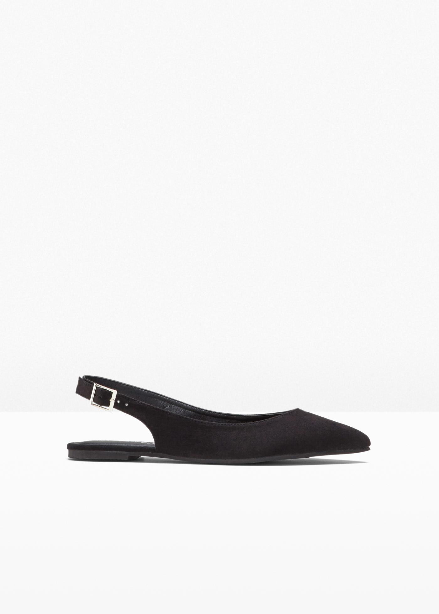 Sling Ballerina in schwarz für Damen von bonprix