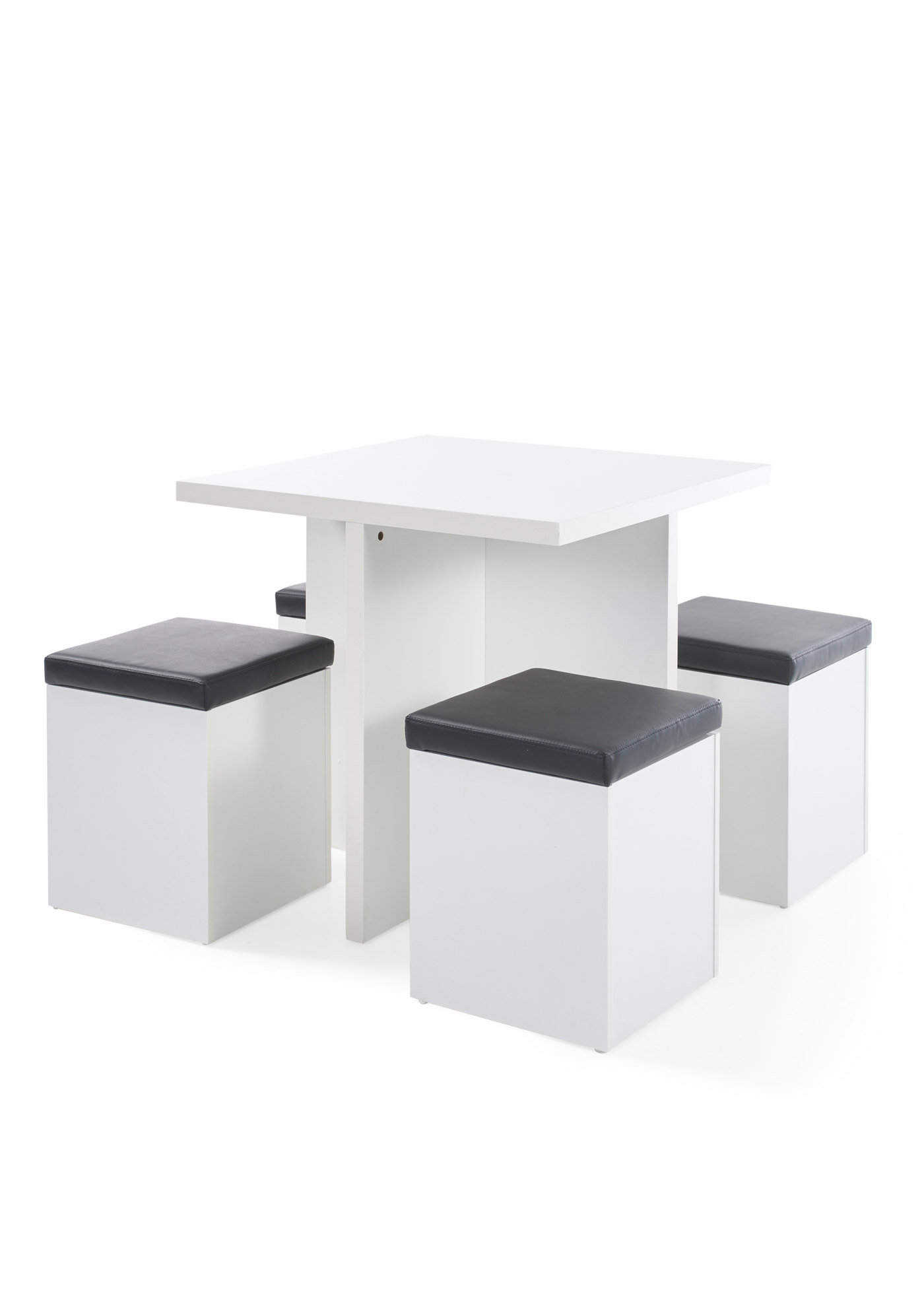 Tisch mit Hocker (5-tlg.Set)