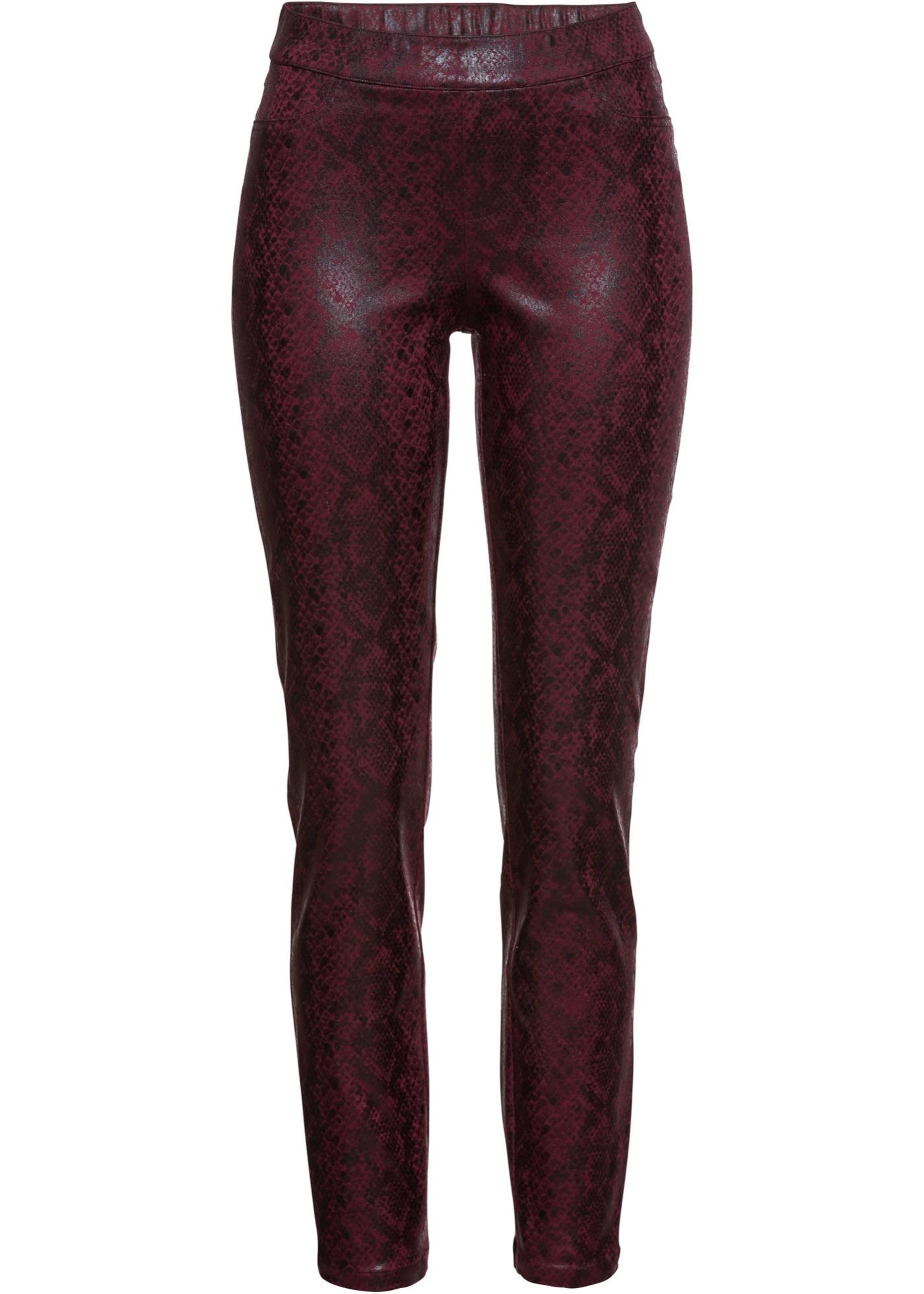 Hosen - Hose mit Schlangenprint › bonprix › pink  - Onlineshop Bonprix