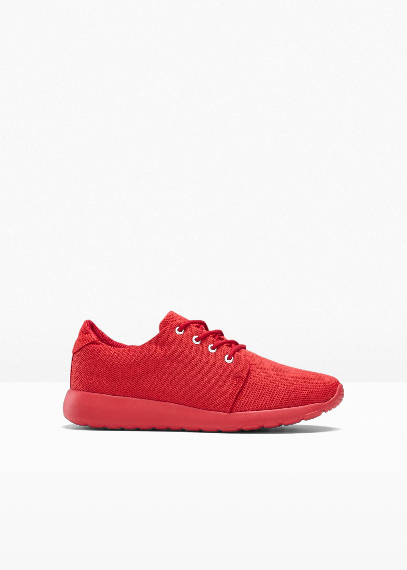 Sneaker in rot für Damen von bonprix