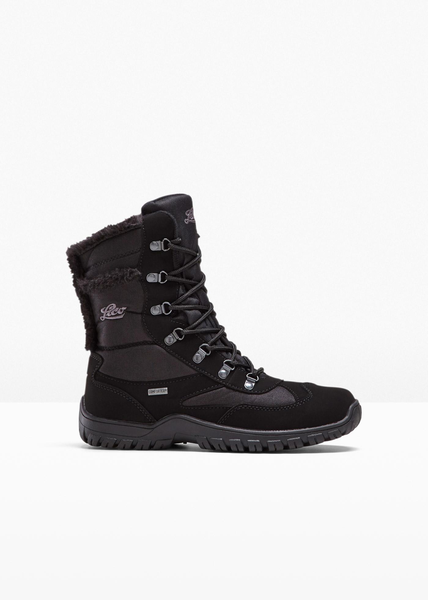 Schnür Stiefel von Lico in schwarz für Damen von bonprix