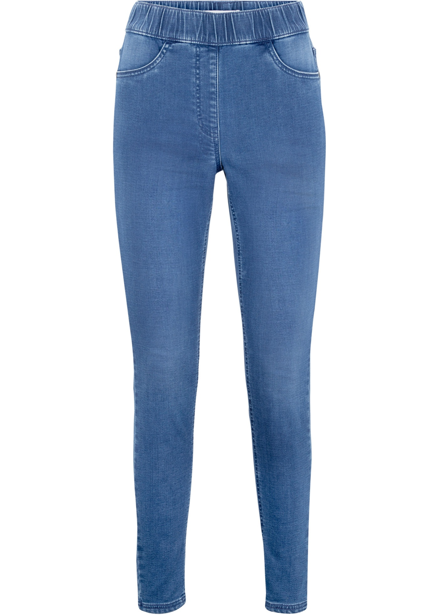 Maite Kelly Leggings in Jeansoptik in blau für Damen von bonprix