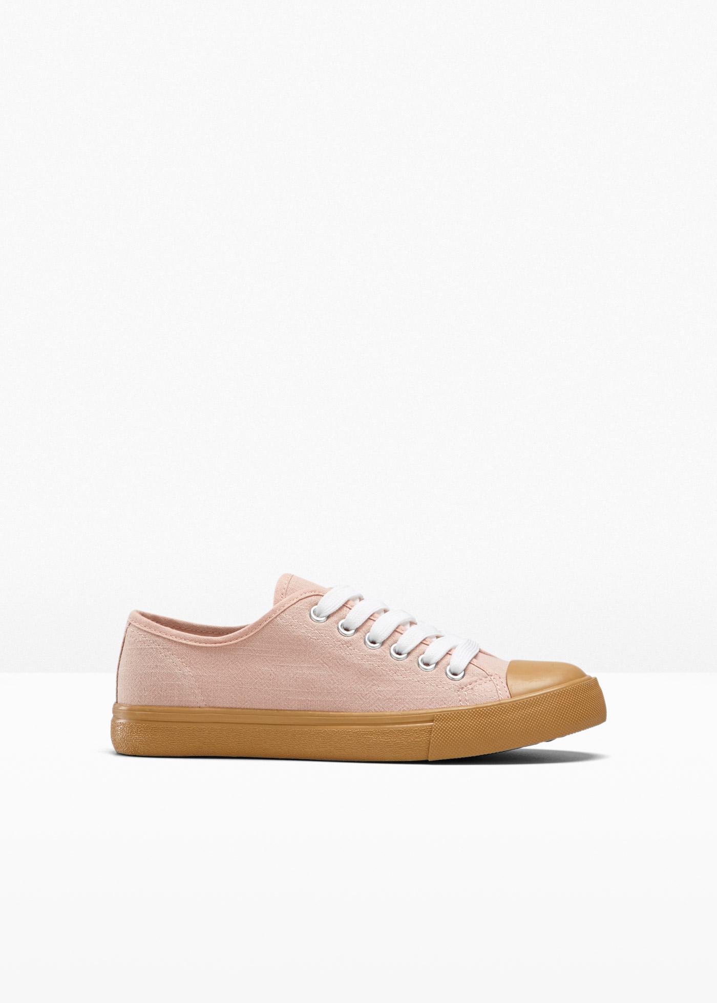 Sneaker in rosa für Damen von bonprix