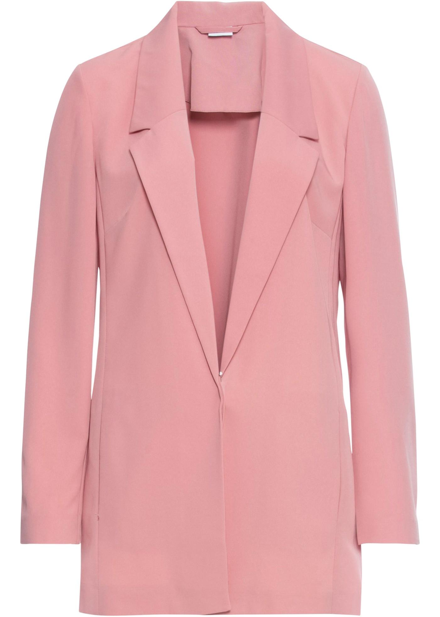 Blazer langarm  in rosa für Damen von bonprix
