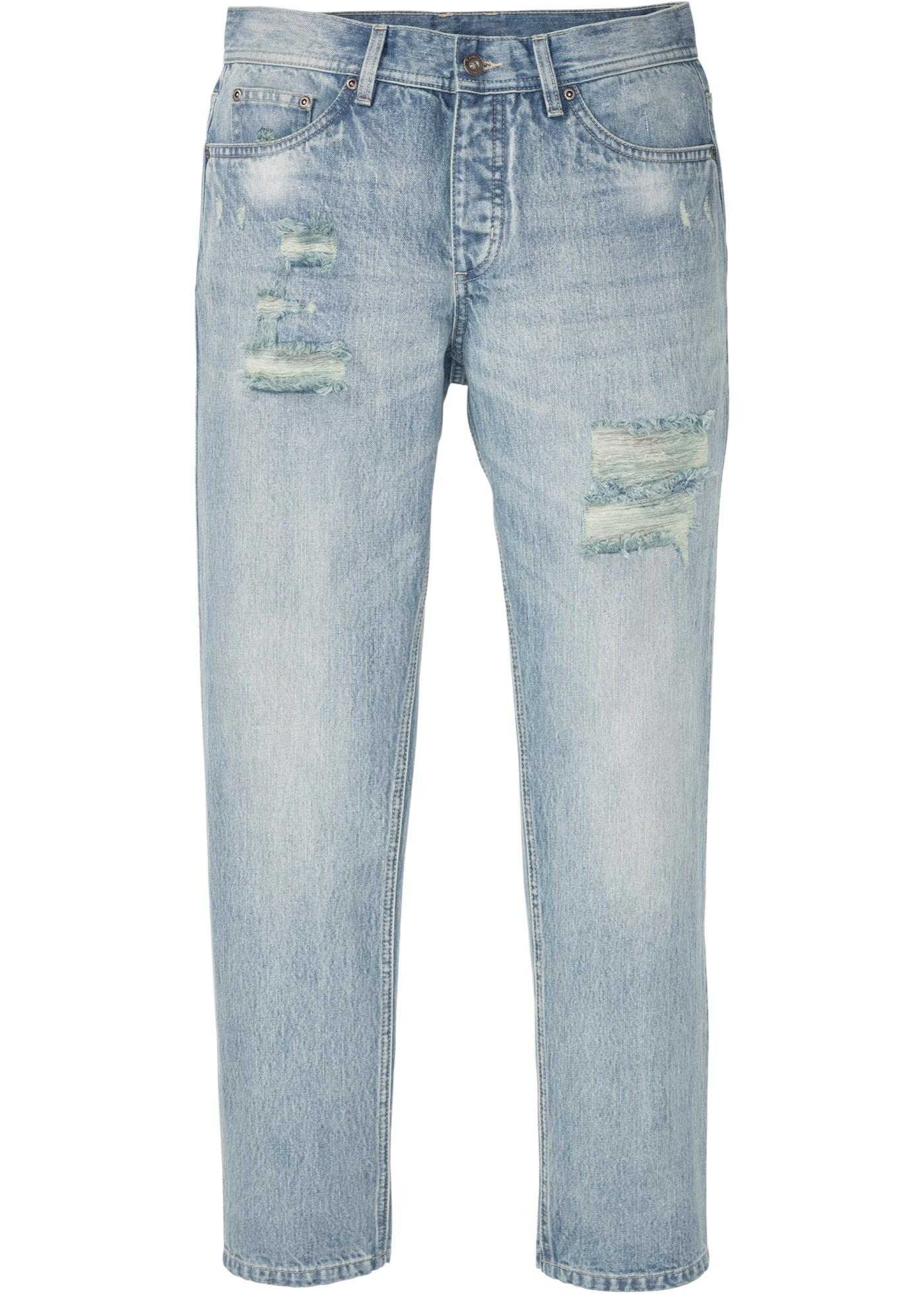 Regular Fit Jeans, Straight in blau für Herren von bonprix