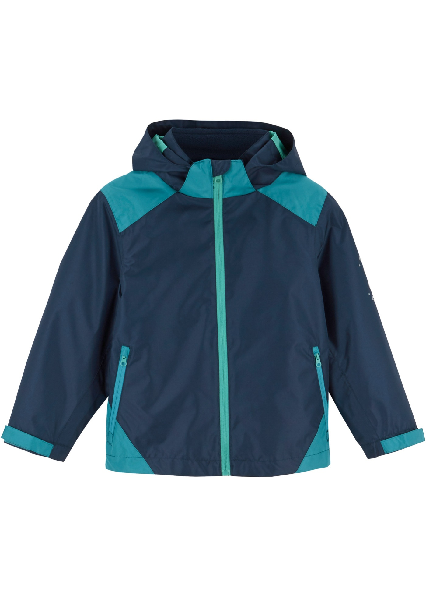 Jungen 3 in 1 Jacke langarm  in blau für Jungen von bonprix