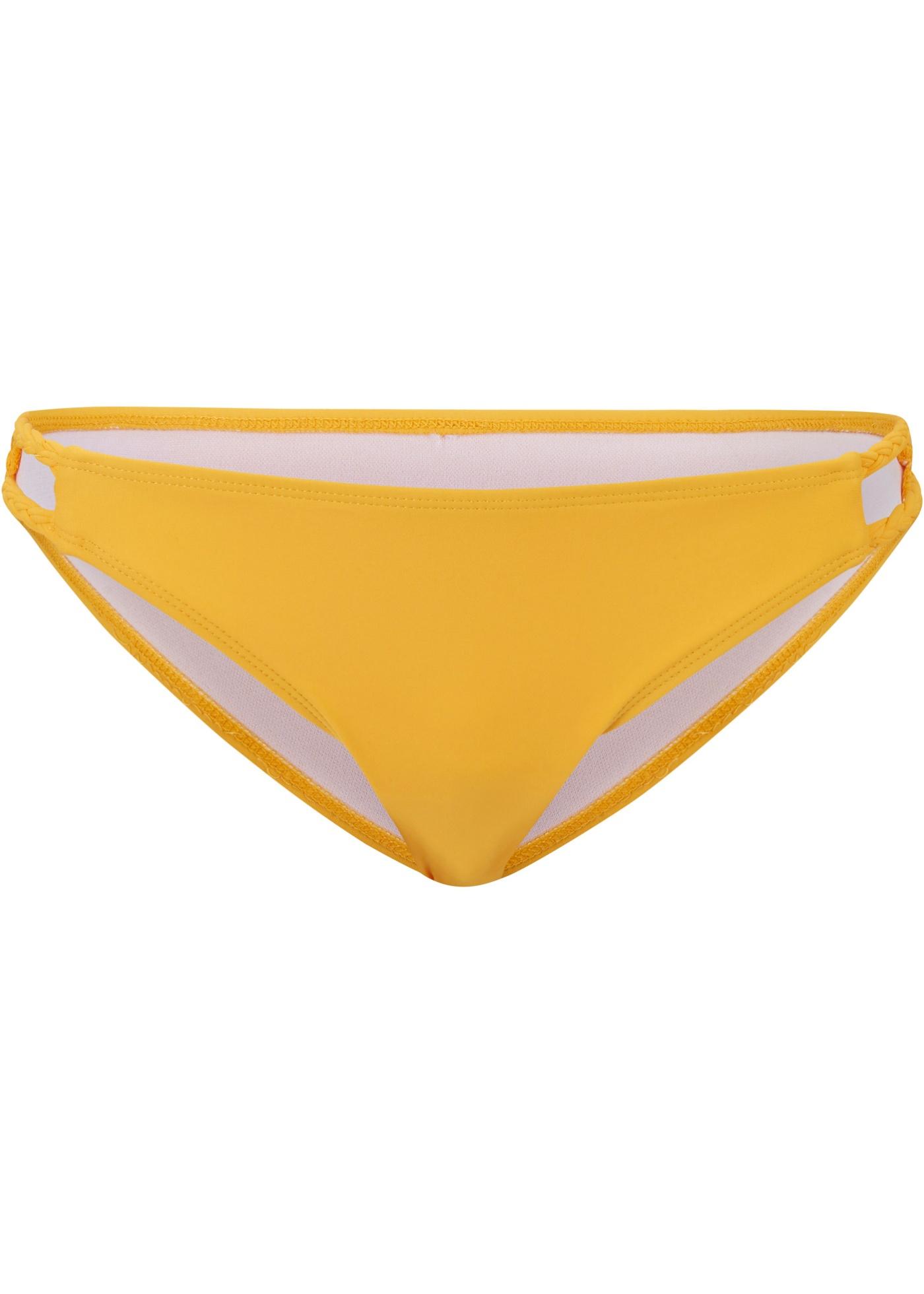 Bikinihose in gelb für Damen von bonprix