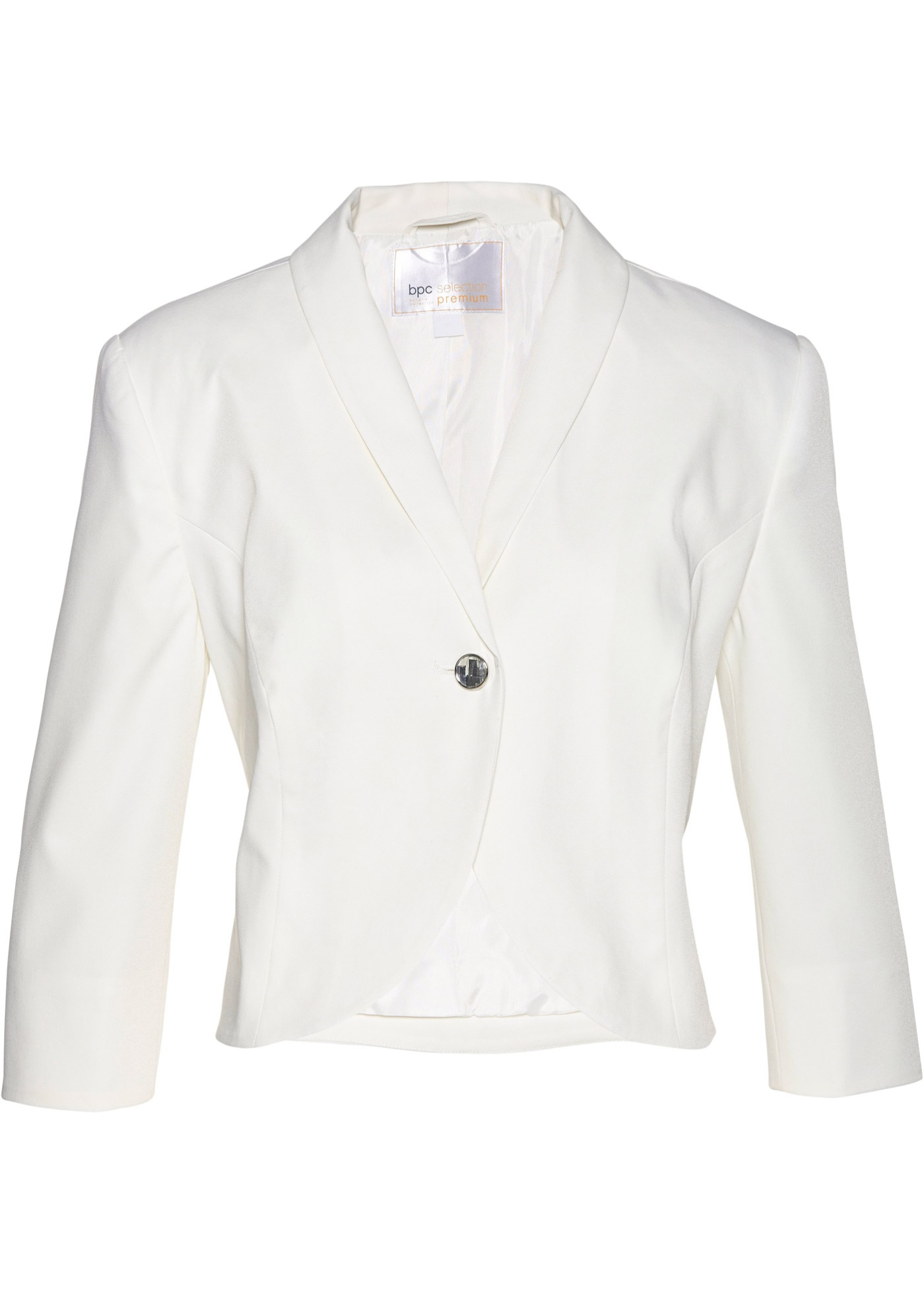 Bolero 3/4 Arm  in weiß für Damen von bonprix