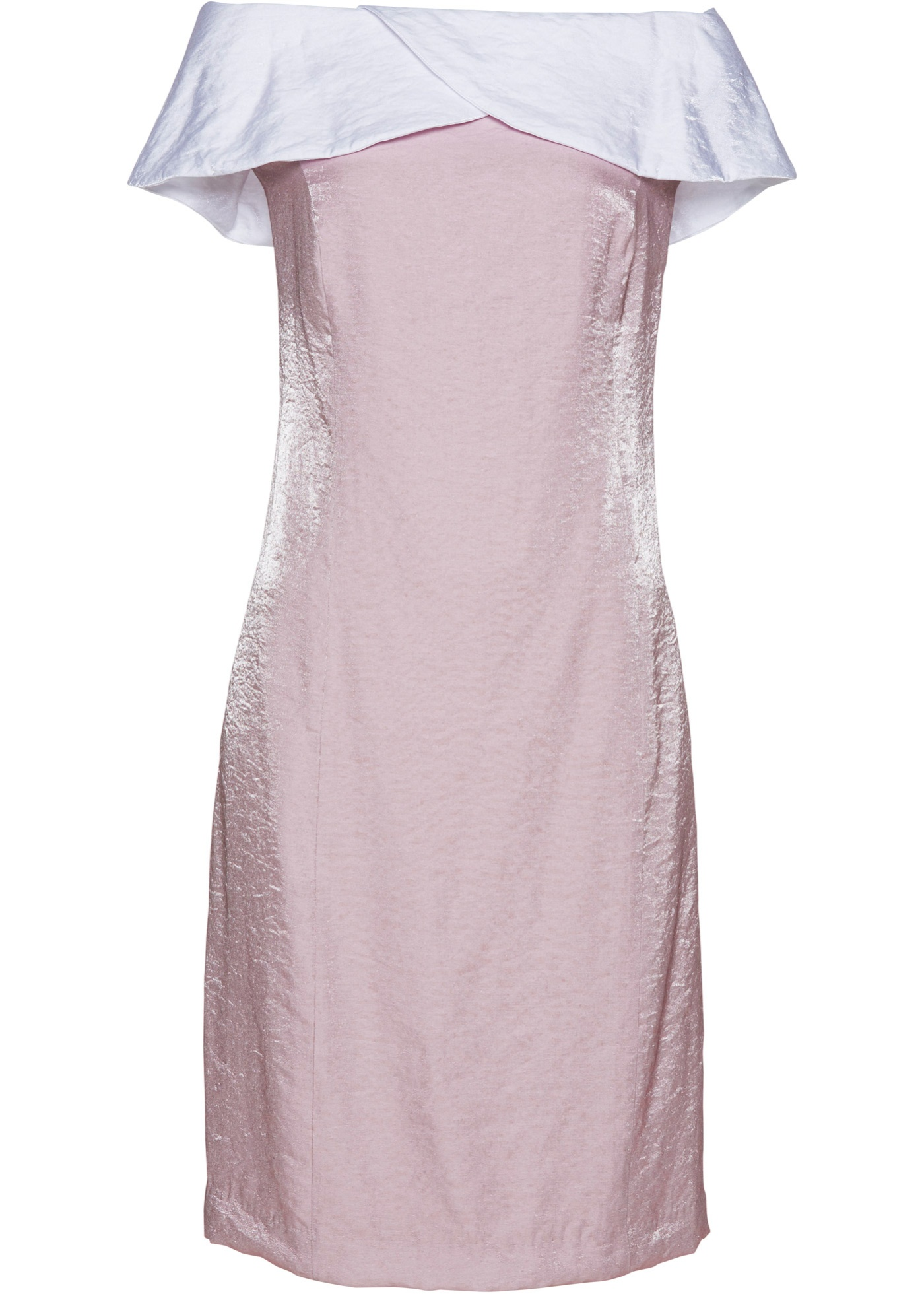 Carmen-Kleid in lila für Damen von bonprix