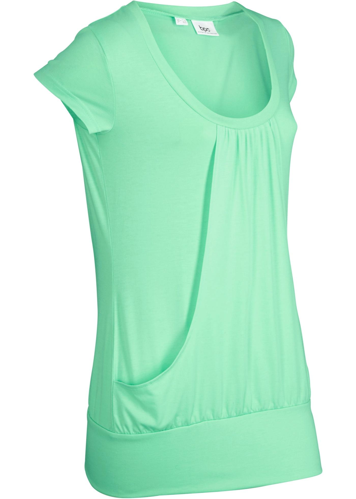Sport-Stretch-Longshirt, kurzarm