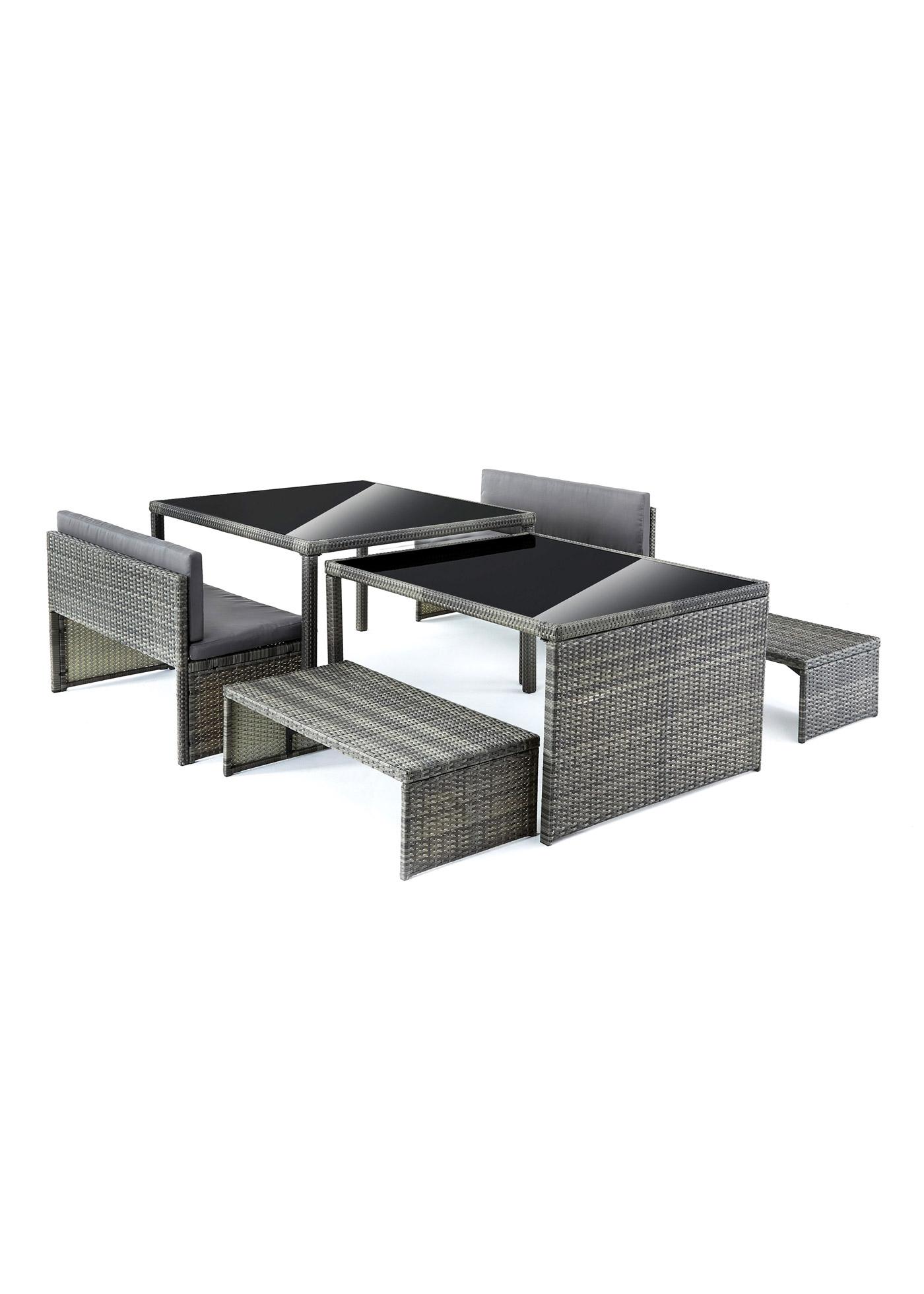 Gartenmöbel Set (6-tlg.Set)