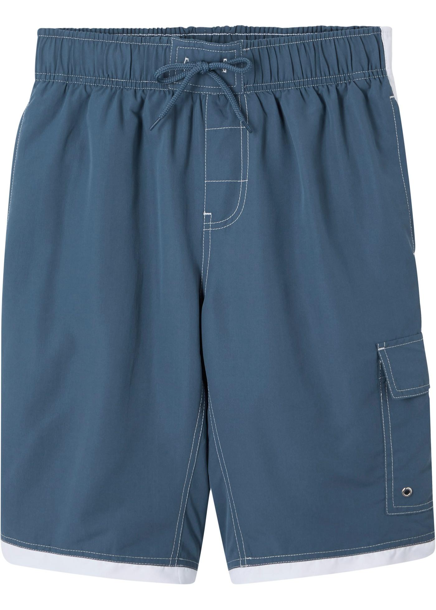 Bermuda mit Tasche in blau für Jungen von bonprix