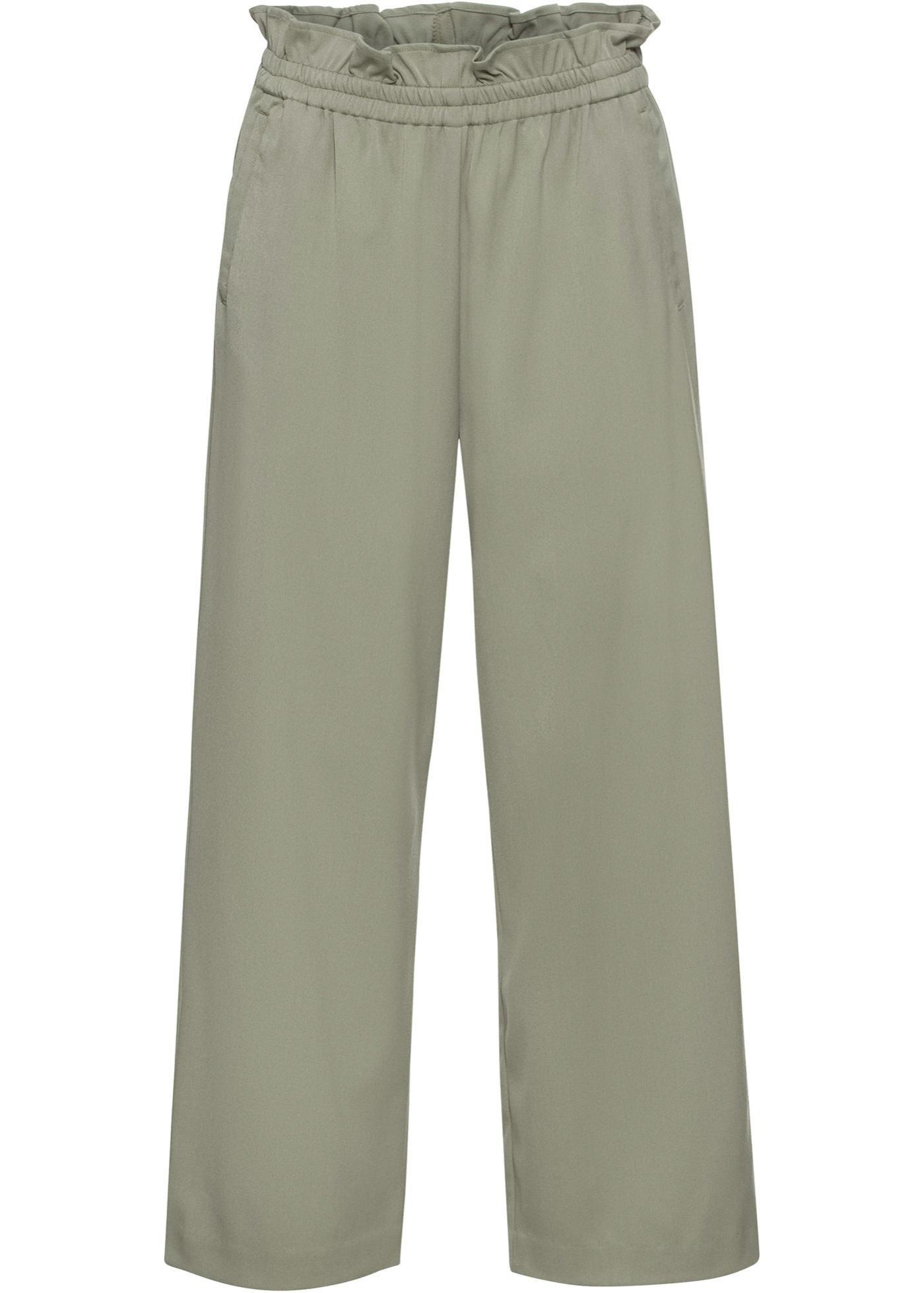 Culotte mit elastischem Bund in grün für Damen von bonprix