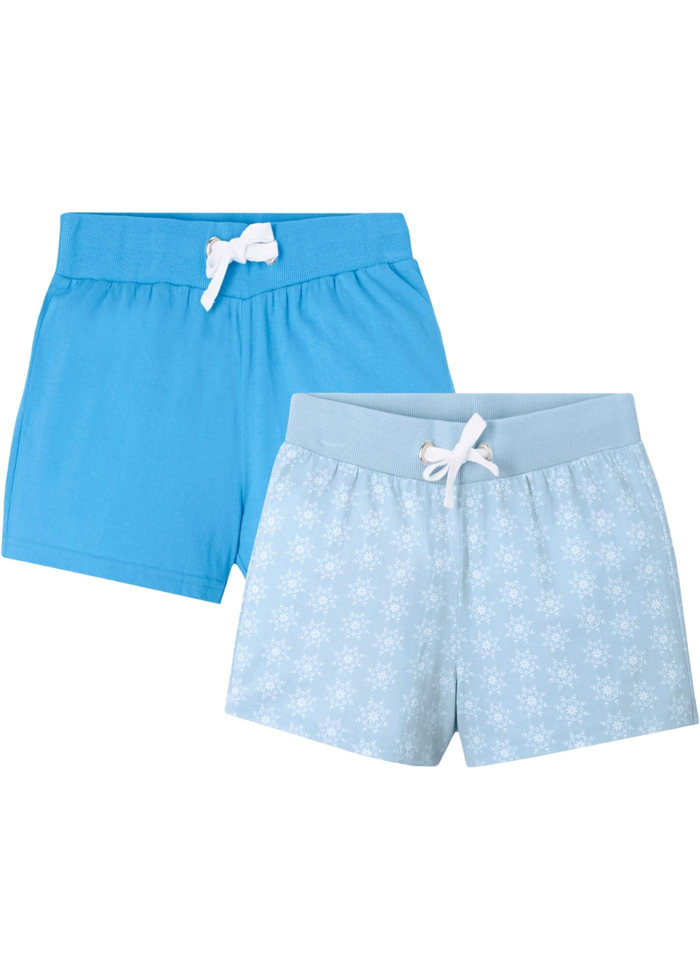 Mädchen Shorts (2er-Pack) aus Bio-Baumwolle