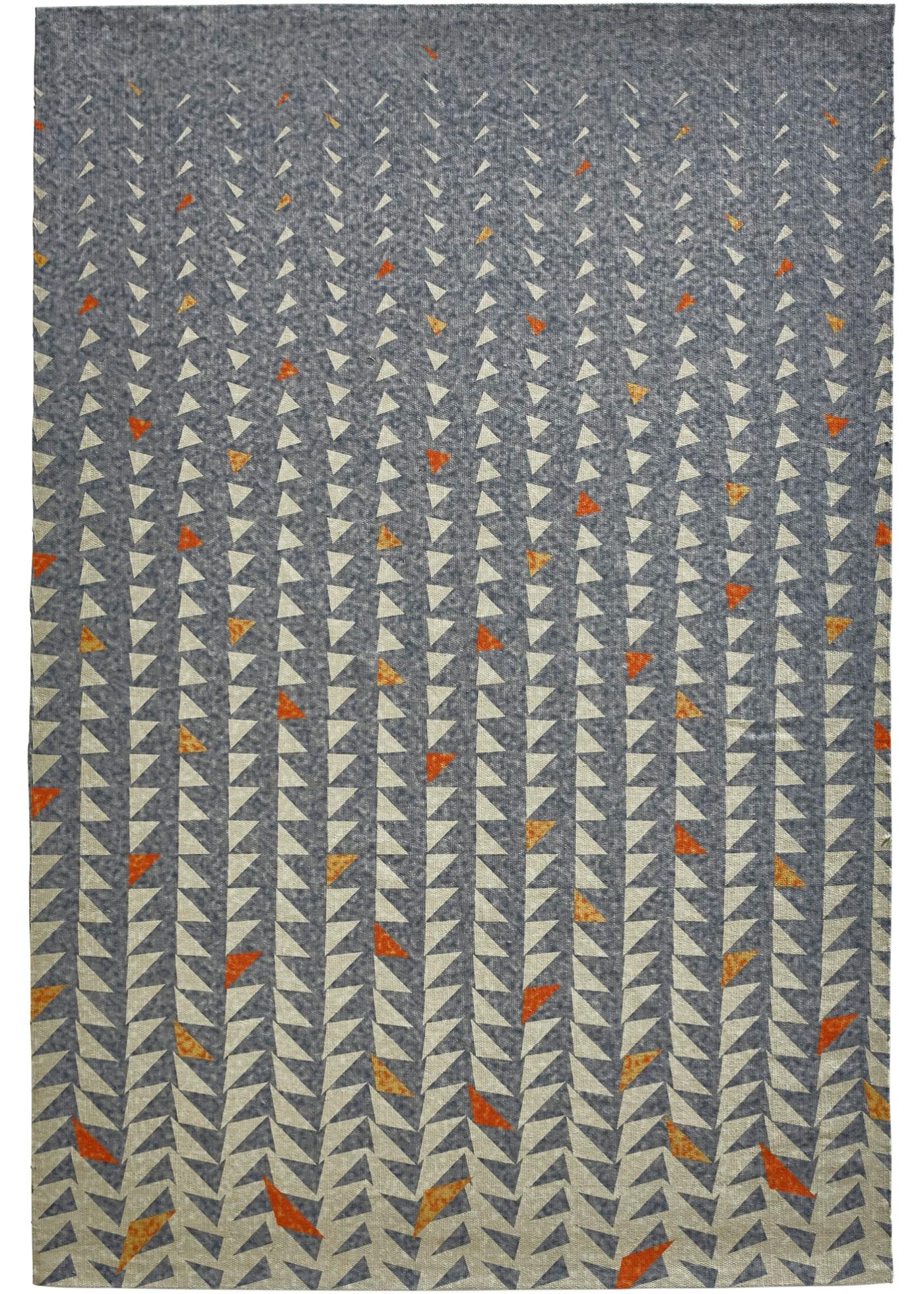 Teppich mit dezentem Verlauf in grau von bonprix