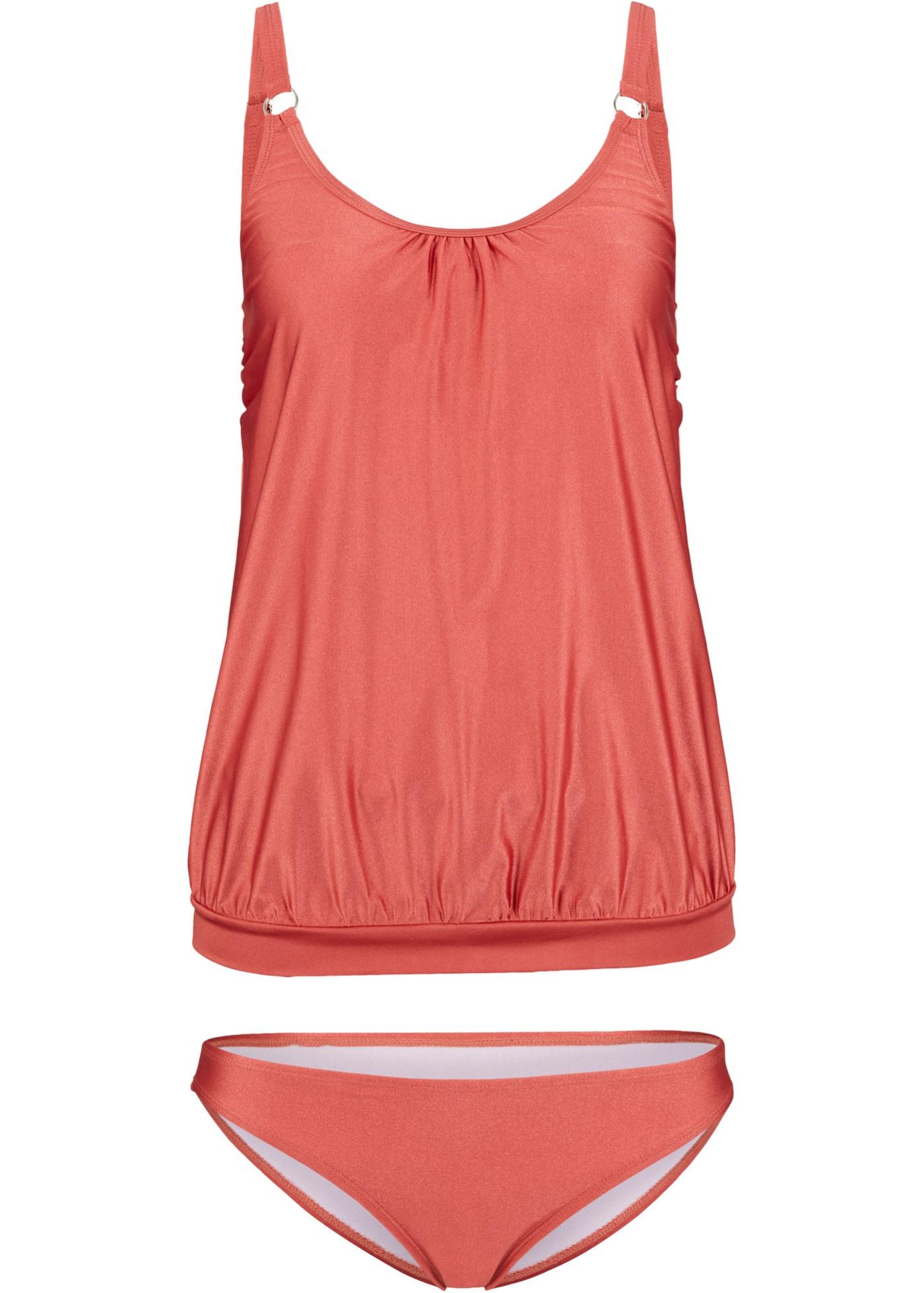 Tankini (2-tlg. Set) in rosa für Damen von bonprix
