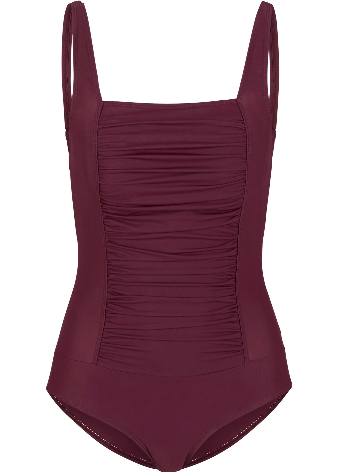 Shape Badeanzug Level 1 in rot für Damen von bonprix