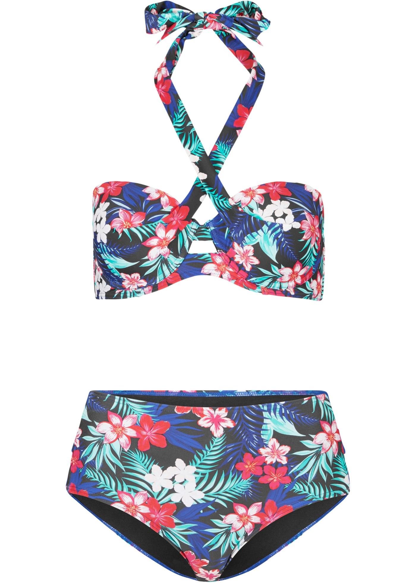 Balconette Bügel Bikini (2-tlg. Set) in blau für Damen von bonprix