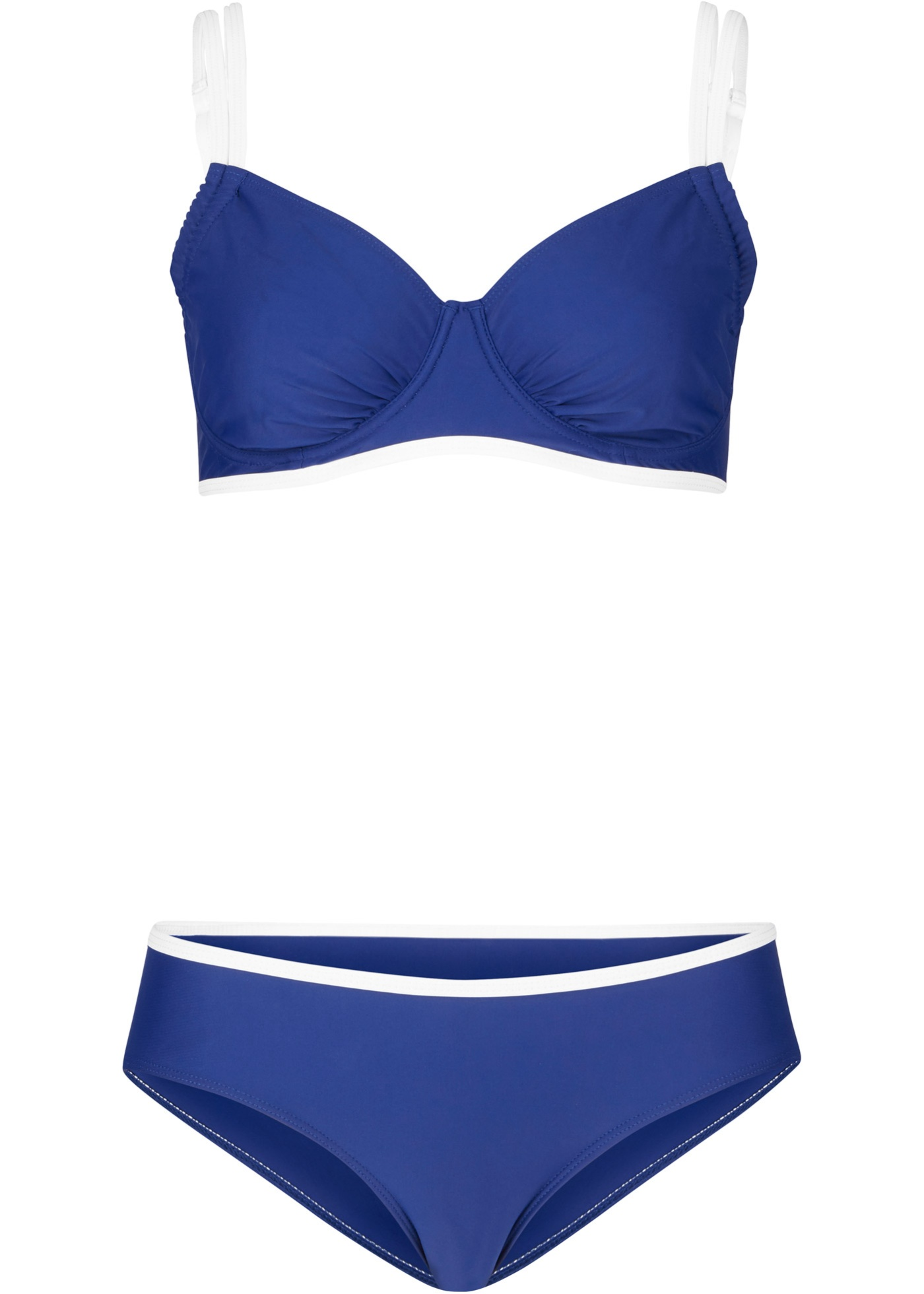 Minimizer Bügel Bikini (2-tlg. Set) in blau für Damen von bonprix