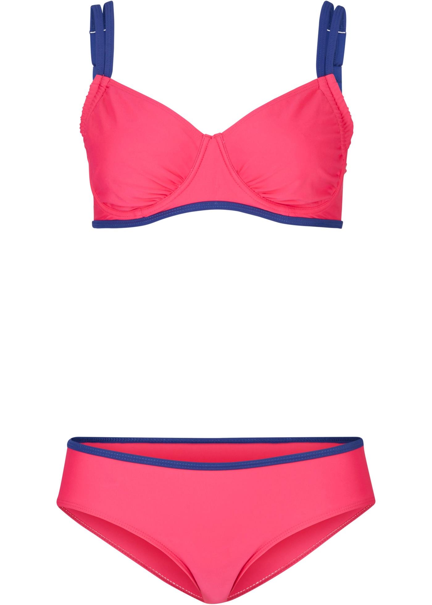 Minimizer Bügel Bikini (2-tlg. Set) in pink für Damen von bonprix